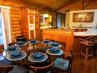 Photo for Log Cabin .5miles from Ky Lake, King Bed, Hot Tub, Pool Table, 1500sqft Venue!