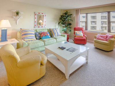 "Photo for This bright and colorful ""beachy"" condo is perfect for those seeking the sun!"