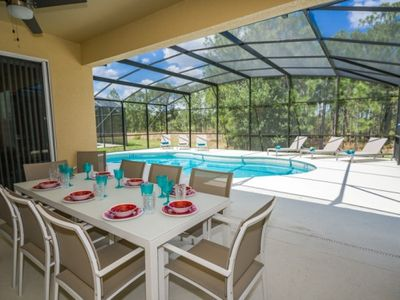 Photo for Gorgeous Disney Pool Home with all the extras