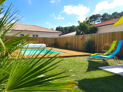 Photo for New: Bassin d'Arcachon, Gujan Mestras house 8 pers. with heated pool