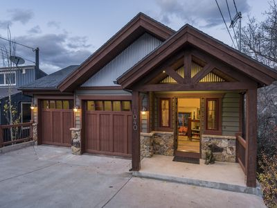 Photo for Mountainside Retreat | Private Hot Tub | Walk to Main St. | Concierge