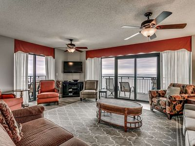 Photo for Free Tickets to Local Attractions! Oceanfront 14th Floor Condo with Panoramic Views at South Wind