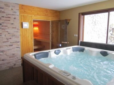 Photo for Standing cottage with SPA and SAUNA for 8 to 10 people near St-Lary-Soulan