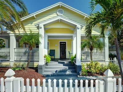 Photo for Key West Style Home. Covered Porch w/GULF VIEW. all Beach Gear. 30 Secs to Sand!