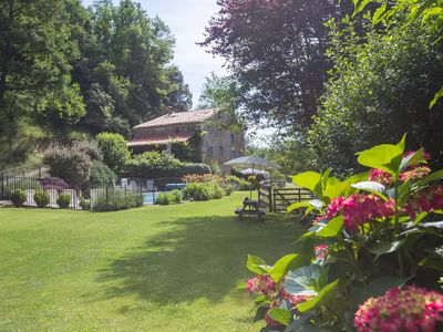 Photo for L'Atelier, a tranquil retreat with pool in its own valley 30 miles from the sea