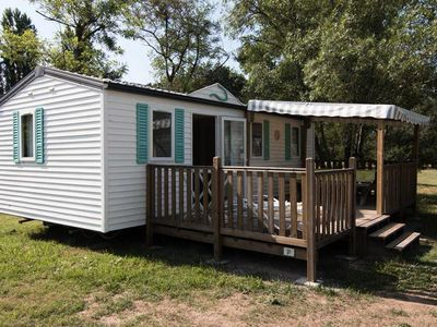 Photo for Camping Le Mas des Chênes *** - Family Cottage 4 Rooms 6 People