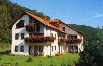 Photo for Comfortable apartment (number 3, upper floor) in a quiet holiday home, nature park Palatinate Forest