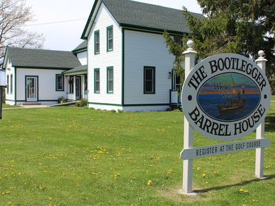 Photo for The Historic Bootlegger Barrel House At Whisky Run Golf Club In Port Colborne
