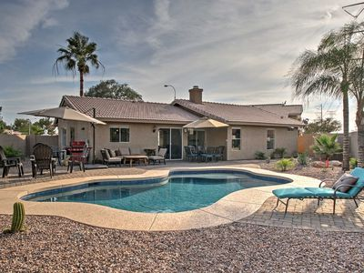 Photo for Home w/Heated Pool & Patio-2 Mi to Main St Gilbert