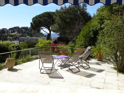 Photo for THE GARDEN OF THE HESPÉRIDES 6 pers Sea view, terrace, pool 3 Bedrooms, Parking