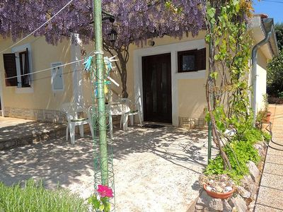 Photo for Lovely and cheerful studio in Brzac, Island Krk, Croatia for 2 persons