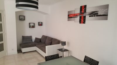 Photo for NICE, SPACIOUS AND VERY BRIGHT APARTMENT CENTER CANNES NEAR BEACHES AND PALAIS