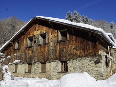 Photo for The Joly-Taste, typical chalet at the foot of Mont Blanc
