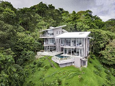 Photo for Luxury Villa with Amazing Ocean/Jungle Views/Privacy