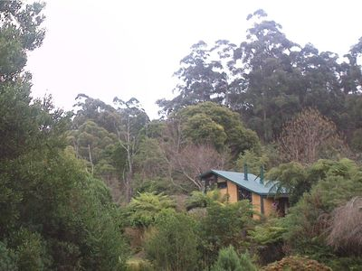 Photo for Red Earth Cottage - Mudbrick Cottage on 17 acres adjoining National Park