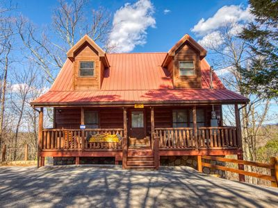 Photo for Check out our lower prices!! Book now for your Smokey Mtn getaway.