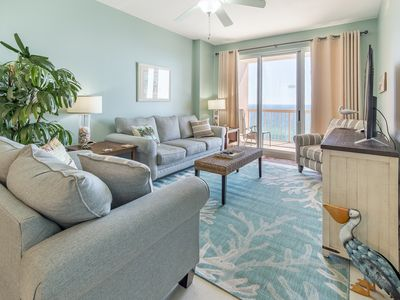 Photo for ☀BeachFRONT @ at Sunrise Beach #1408-3BR☀Pools! OPEN June 20 to 22 $1026 total!