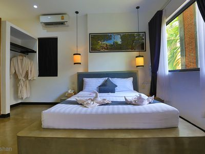 Photo for Deluxe Room: 1Double & Single bed - Free pick up