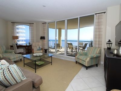 Photo for Beach Colony East 9B- Beach Front unit with large terrace & amazing views!