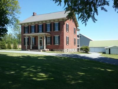 Large Brick Farmhouse located close to Lancaster County Attractions