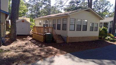Photo for Happy Beach Cabin at 1355 Dolphin Dr
