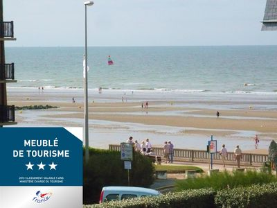 Photo for SEA VIEW, 57m2, WIFI, near downtown CABOURG, beach at 50m, parking