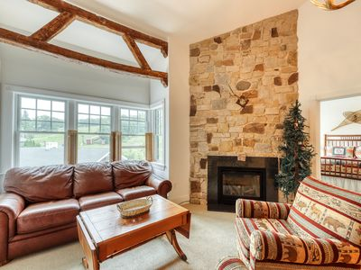 Photo for NEW LISTING! Family-friendly ski-in/out condo w/ shared tennis, gym golf on site