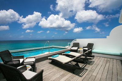 Your Own PRIVATE Rooftop Pool & Sundeck with Caribbean Ocean & Beach Views!