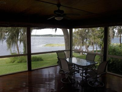 Photo for 3-bedroom lakefront villa with three kayaks