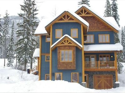 Photo for Beautiful Open Mountain Chalet.  KHMR now open!  Special early season pricing!