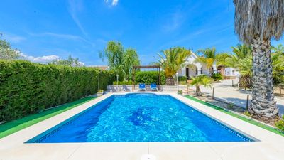 Photo for Holiday home with lovely outdoor area and pool near the Costa del Sol