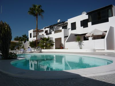 Photo for Residential apartment free wifi, UK & Irish TV, shared pool & private terrace.