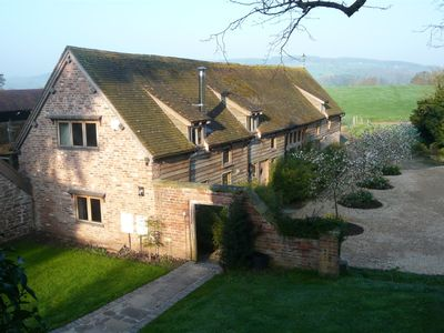 Photo for Magnificent 17th Century timber framed barn set in lovely countryside