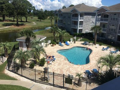 Photo for Myrtlewood 2BR 1st Floor End Unit -Wifi-Cal Ripken Welcome-Close to Pool