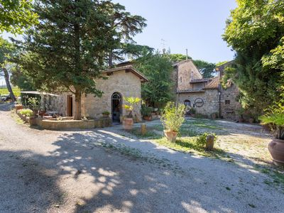 Photo for Residence in San Gimignano with 2 bedrooms sleeps 6