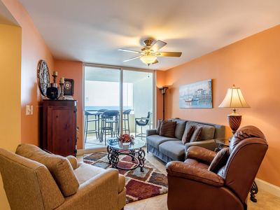 Photo for Cozy Gulf Front Condo ~ Amazing Views ~ Directly on Beach w/ Private Balcony!