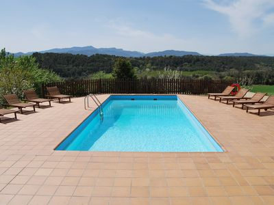 Photo for Very well located house with rustic charm for 4 people (near Girona, Costa Brava