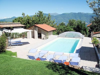 Photo for Lovely apartment for 14 people with private pool, WIFI, TV, balcony and pets allowed