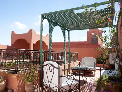 Photo for Ideal Family and groups - WHOLE RIAD for you! Traditional Riad in the Medina of Marrakech