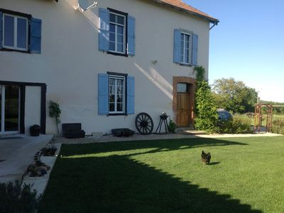 Photo for Pretty 18C farmhouse set in peaceful village with own pool and jacuzzi