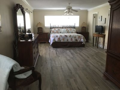 Lovely Downstairs Master Bedroom. King Bed With Exercise Equipment And Private  Bath.