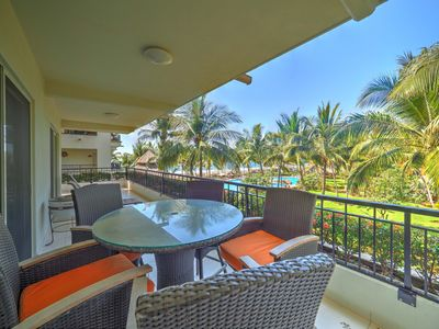 Photo for Beautiful Beach Front 3 Bdrm Condo Playa Royale Nuevo Vallarta