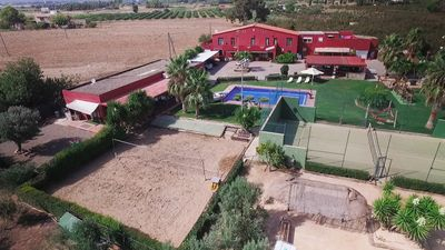 Photo for Finca with paddle / pool / volleyball / soccer / WIFI and children's area