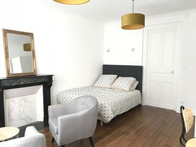 Photo for Renovated apartment - historic center of Caen