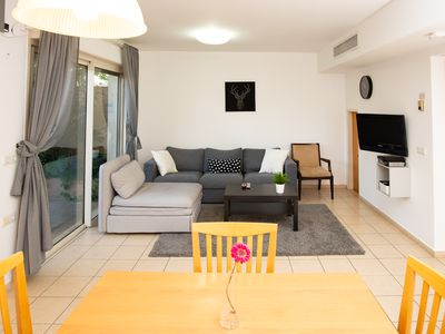 Photo for Two Bdr Apt - Hertzlia Pituach - 1 Minute Walk From the Beach!
