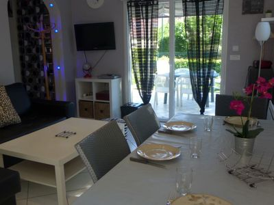 Photo for Vacation home La Pergola in Cabourg - 6 persons, 2 bedrooms