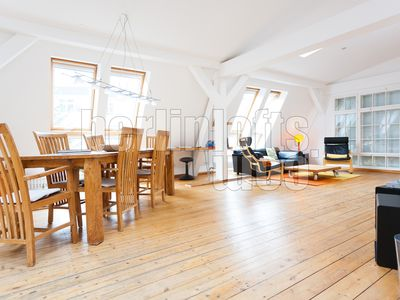 Photo for Light-flooded apartment in a historic loft building