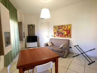 Photo for Apartment in Gallipoli (Lido San Giovanni) on the second floor of a tourist complex.