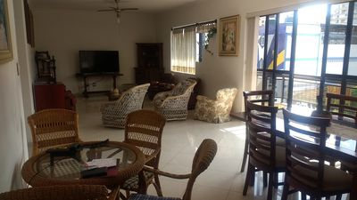 Photo for Excellent 3 bedroom APT. with 2 parking spaces 400 meters from the beach