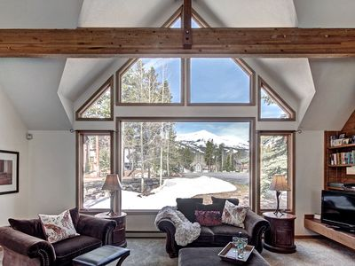 Photo for Ski In/Out home w/Private Hot Tub, Pets, Kuerig, HeatedGarage, FREE WNTR Shuttle